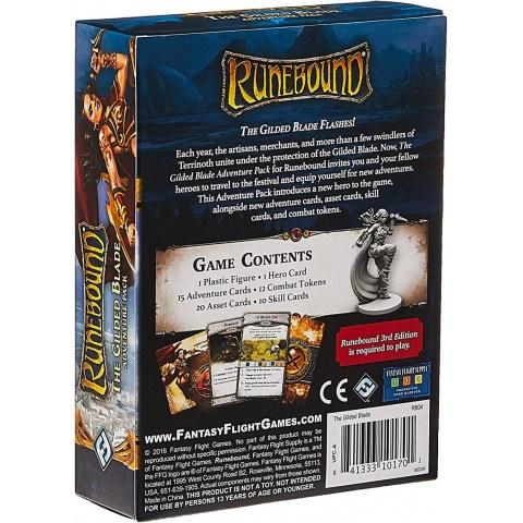 Runebound (Third Edition): The Gilded Blade Adventure Pack (2016)
