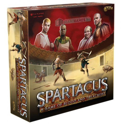 (Pre-order) Spartacus: A Game of Blood & Treachery (2020) - настолна игра