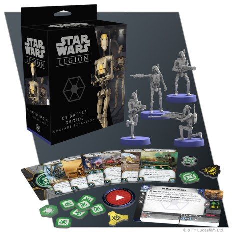 Star Wars: Legion – B1 Battle Droids Upgrade Expansion Board Game