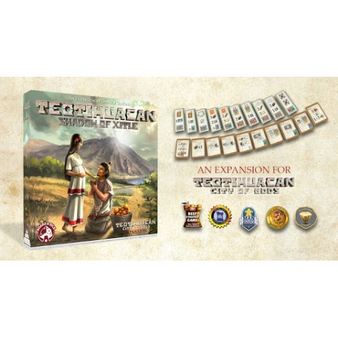 Teotihuacan: Shadow of Xitle Expansion (2020)  - разширение за настолна игра