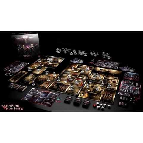 The Order of Vampire Hunters (2018) - кооперативна настолна игра