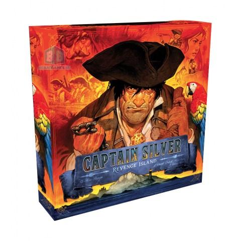 Treasure Island: Captain Silver – Revenge Island Expansion (2020)