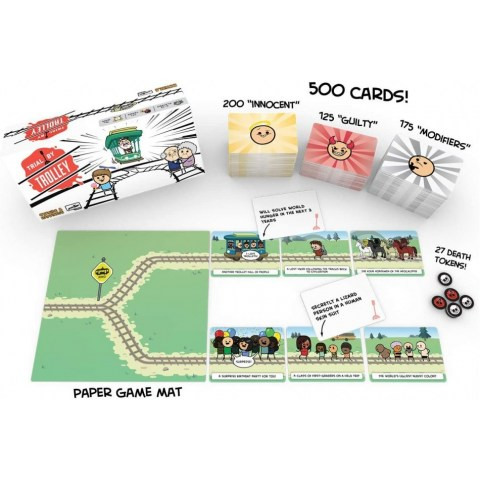 Trial by Trolley (2020) Board Game