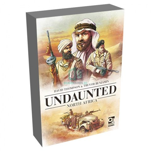 Undaunted: North Africa (2020) - настолна игра