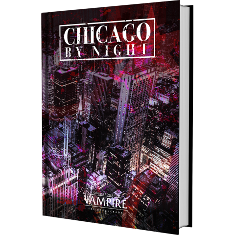 Vampire: The Masquerade 5th Edition Chicago By Night sourcebook (Hardcover) в D&D и други RPG / Vampire: The Masquerade