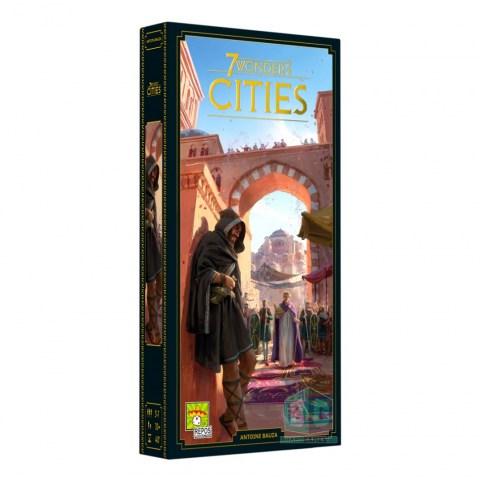 7 Wonders: 2nd Edition Cities Expansion (2020) - разширение за настолна игра