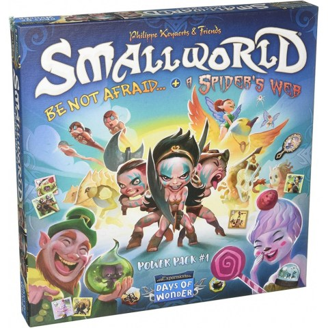 Small World: Power Pack 1 (съдържа експанжъните Be not Afraid и A Spider's Web)