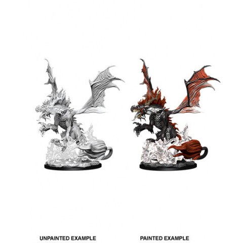 WizKids Deep Cuts Unpainted Miniatures: Wave 12 Nightmare Dragon