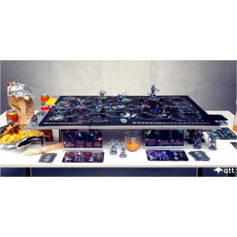 AdapTableTop Modular System for boardgames (Black, 90x60cm)
