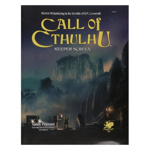 Call of Cthulhu RPG: Keeper Screen Pack (7th Edition)