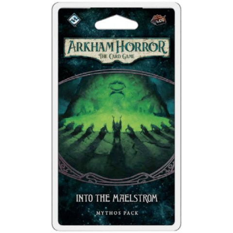 (Pre-order) Arkham Horror: The Card Game - The Innsmouth Conspiracy cycle 6 - Into the Maelstrom Mythos Pack