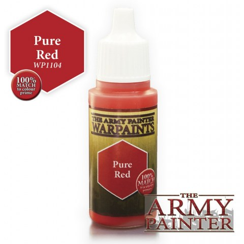 Army Painter Warpaints - Pure Red