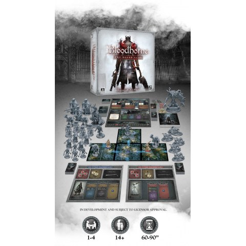Bloodborne: The Board Game (2020) - настолна игра