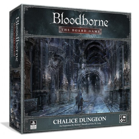 Bloodborne: The Board Game – Chalice Dungeon Expansion (2020) - разширение за настолна игра