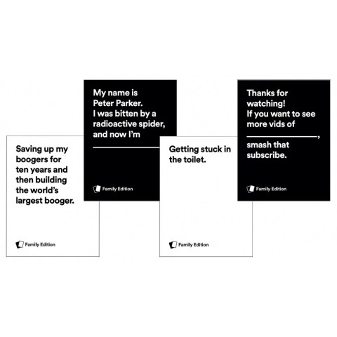 Cards Against Humanity: Family Edition - парти настолна игра