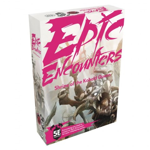 Epic Encounters: Shrine of the Kobold Queen (D&D 5E Compatible) в D&D и други RPG / D&D Миниатюри