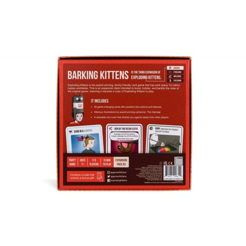 Exploding Kittens: Barking Kittens Expansion (2020) Board Game