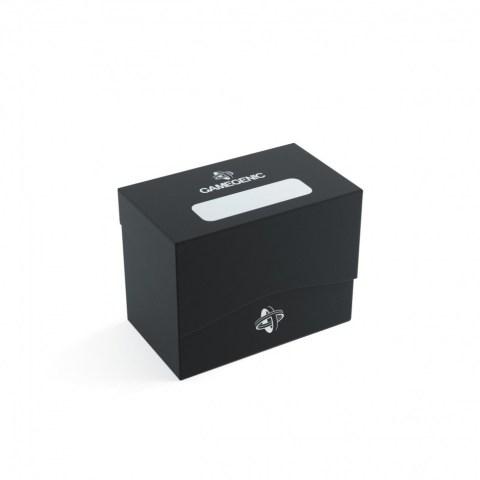 Gamegenic Black Side Deck Holder (80+) - черна кутия за карти в Кутии за карти