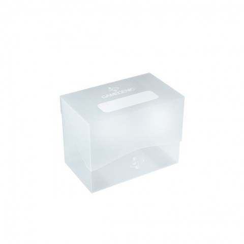 Gamegenic Clear Side Deck Holder (80+) - Clear