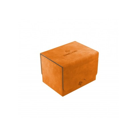 Gamegenic Orange Sidekick Deck Holder (100+) - оранжева кутия за карти в Кутии за карти