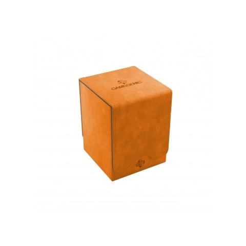 Gamegenic Orange Squire Deck Holder (100+) - оранжева кутия за карти в Кутии за карти