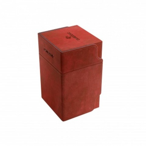 Gamegenic Watchtower Deck Holder (100+) - Red in Deck boxes