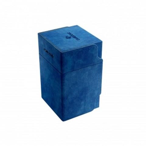 Gamegenic Blue Watchtower Deck Holder (100+) - синя кутия за карти и игрални аксесоари