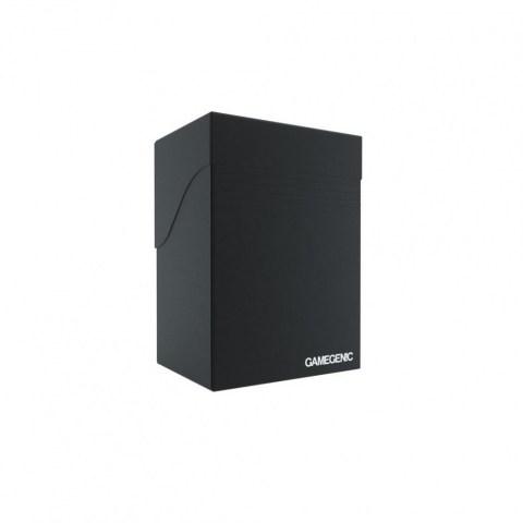 Gamegenic Black Deck Holder (80+) - черна кутия за карти в Кутии за карти