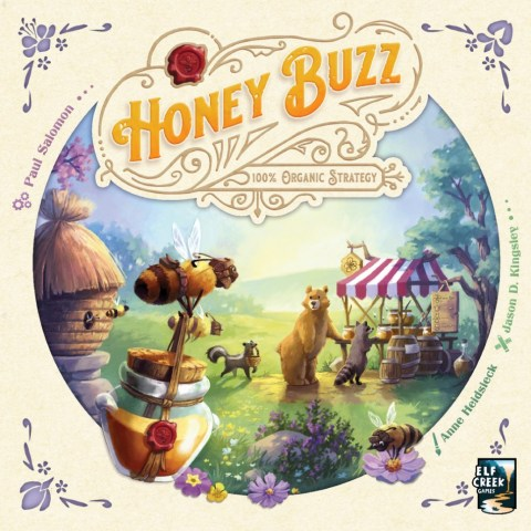 (Pre-order) Honey Buzz (2020) - настолна игра