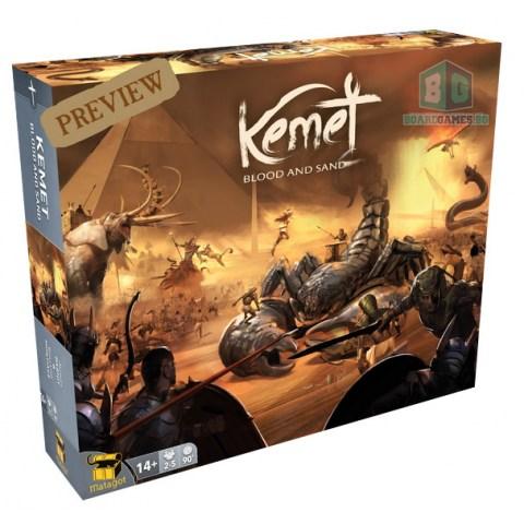 Kemet: Blood and Sand (Kickstarter Edition + SGs, 2021) Board Game