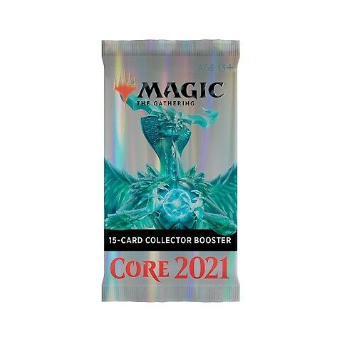 MTG: Core Set 2021- Collector Booster (1) Board Game