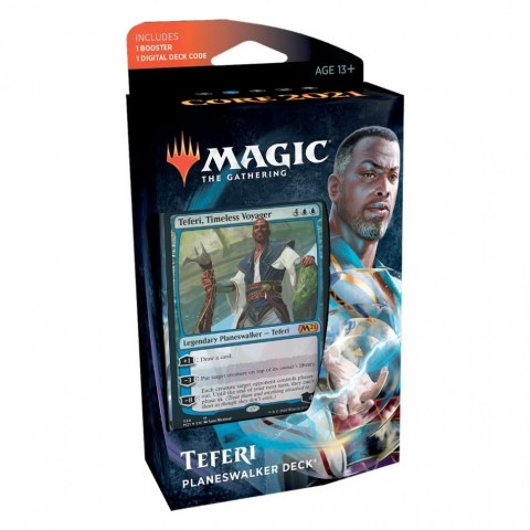 MTG: Core Set 2021 Planeswalker Deck Teferi, Timeless Voyager Board Game