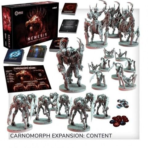Nemesis: Carnomorphs (2019) Board Game