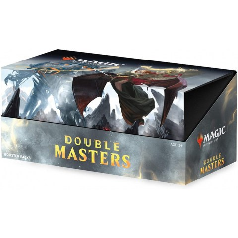 (Pre-order) MTG: Double Masters 2020 Booster Box (24 boosters, 2 box toppers) Board Game