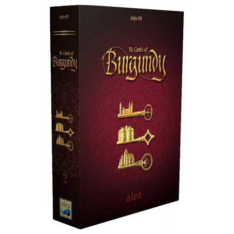 [Леко увредена кутия] The Castles of Burgundy 20th Anniversary Edition (2019) - настолна игра
