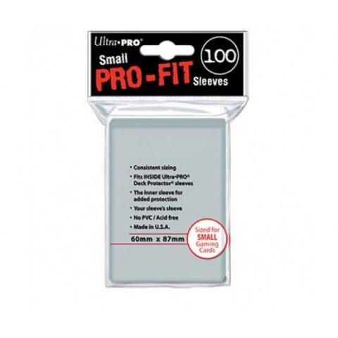 Протектори за карти Ultra Pro Pro-Fit Sleeves Yu-gi-oh! 60x87мм  (100 броя, прозрачни) в Други размери