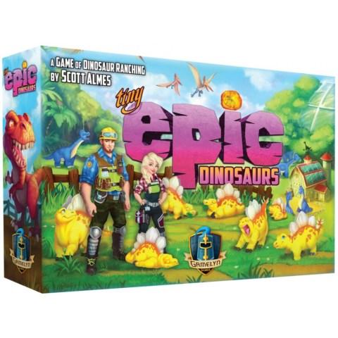 Tiny Epic Dinosaurs (2020) - настолна игра