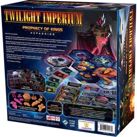 Twilight Imperium (Fouth Edition): Prophecy of Kings Expansion (2020) - разширение за настолна игра