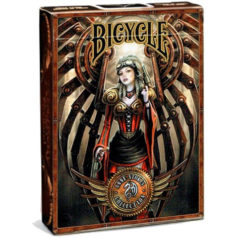 Bicycle Anne Stokes Steampunk Playing Card Deck в Карти за игра
