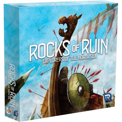 Explorers of the North Sea: Rocks of Ruin Expansion (2018) - разширение за настолна игра