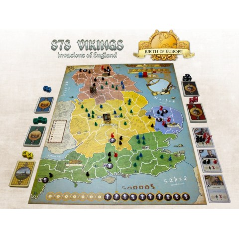878 Vikings: Invasions of England 2nd Edition (2020) - военна настолна игра