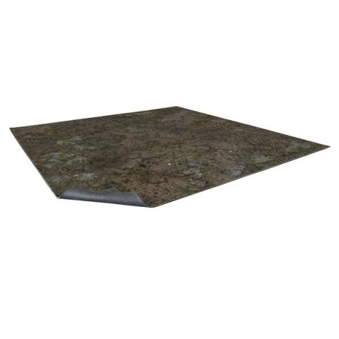 Battle Systems: Muddy Streets Neoprene Gaming Mat (60cmx60cm)