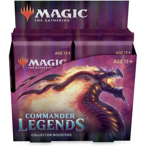 MTG: Commander Legends Collector Booster Box (Booster Display, 12 boosters)