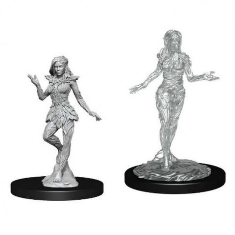 WizKids Pathfinder Battles Deep Cuts Unpainted Miniatures: Wave 14 Nymph & Dryad в D&D и други RPG / D&D Миниатюри