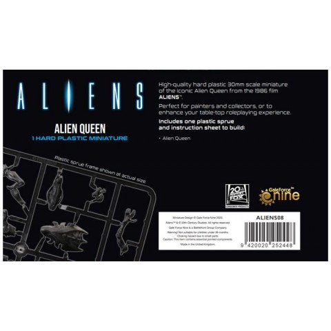 (Pre-order) Aliens Board Game: Alien Queen Miniature (2021)