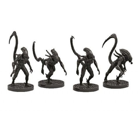 (Pre-order) Aliens Board Game: Alien Warriors Miniatures (2021)