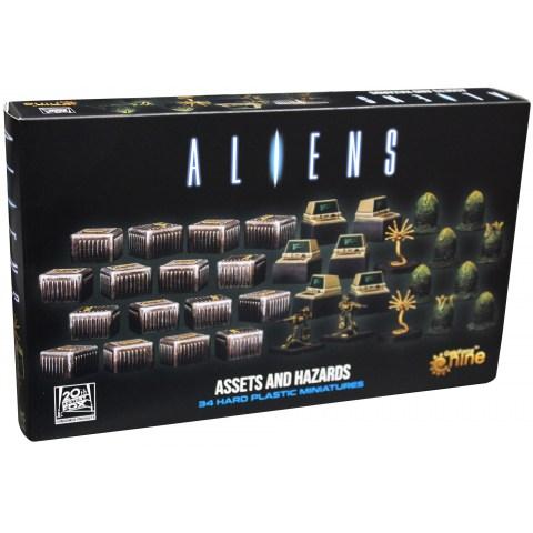 Aliens Board Game: Assets and Hazards Expansion (2020) - разширение за настолна игра