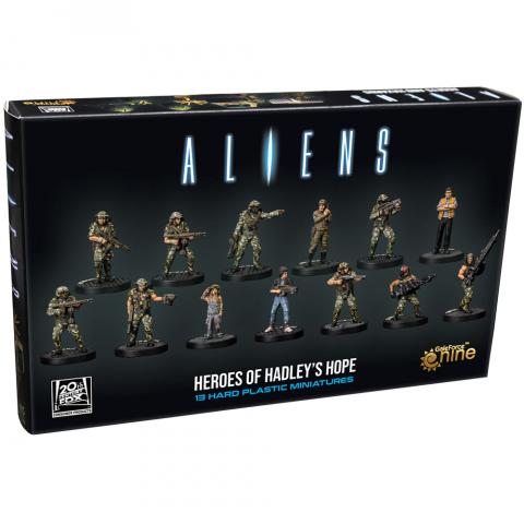 Aliens Board Game: Heroes of Hadley's Hope Miniatures (2021)