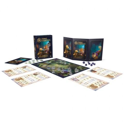 Animal Adventures RPG - Starter Set в D&D и други RPG / Други RPG