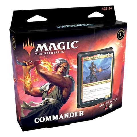 MTG: Commander Legends - Arm for Battle Deck в Magic: the Gathering